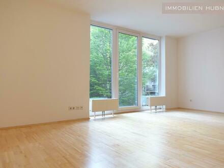 HOFSEITIG und ruhig! Schicke Single-Wohnung im Architektenhaus!