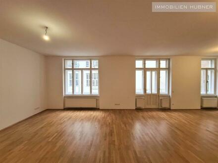 Absolut ruhige, top-ausgestattete 4-Zimmer Altbauwohnung - Grenze 1. Bezirk - unbefristet!!