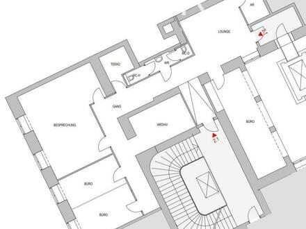 Repräsentatives Altbau-Büro am Kärtner Ring (Nettomiete)