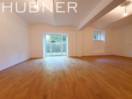 Schicke Souterrain-Terrassenwohnung in nobler Villa - ERSTBEZUG