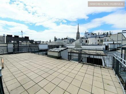 92m² Terrassenfläche!!! DG-Wohntraum! exklusive City-Lage mit Blick am Stephansdom - 3D-Besichtigung!!