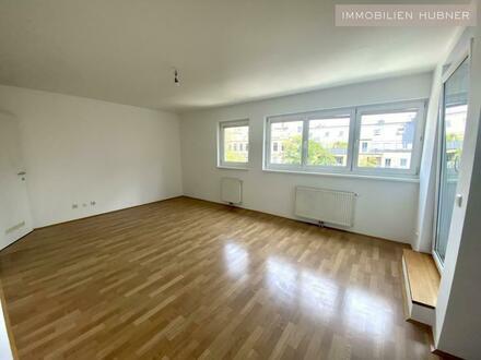 U1-Nähe!!! Hofseitige Single-Neubauwohnung mit Loggia