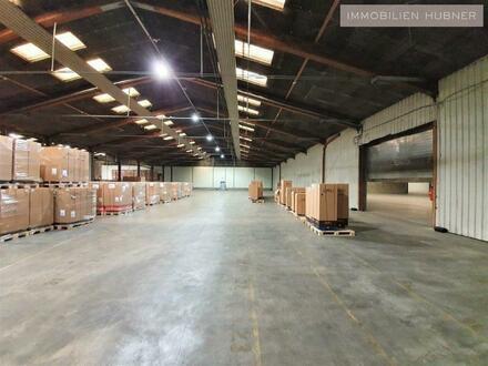 Logistikzentrum und Lagerhalle mit perfekter Infrastruktur