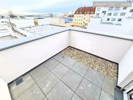 Terrasse nahe dem Wasser - in nur 17min nach Wien Mitte!!
