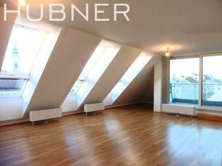 Zieglergasse: Moderne DG-Wohnung mit westseitiger Terrasse auf einer Ebene!!