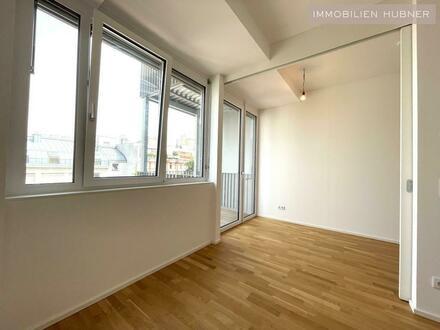 Ostorientierte 2- Zimmer-Wohnung mit Balkon in Top Lage. Erstbezug!