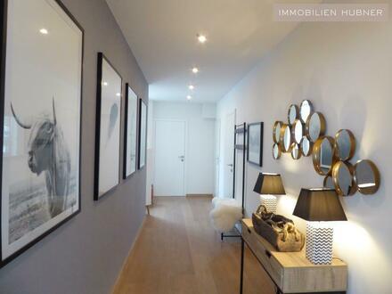 Modern möblierter Maisonette-Traum plus Dachterrasse und Fernblick