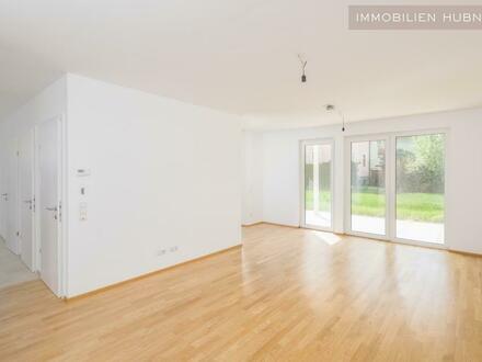 LEOPOLDSDORF: Ruhige 4 Zimmerwohnung mit großem Garten + Terrasse!! ERSTBEZUG!! PROVISIONSFREI!!