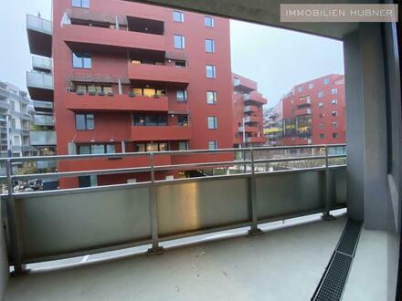 ALL INCLUSIVE-MIETE!!! Modern-möblierte Neubauwohnung mit Loggia im Sonnwendviertel