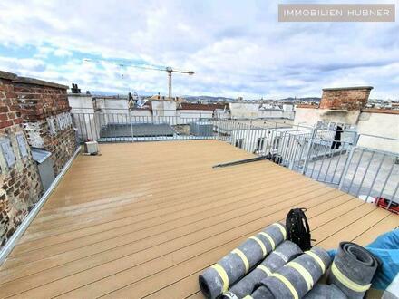 Großzügige DG-Wohnung mit 56m² Dachterrasse, 3 Schlafzimmer und 3 Badezimmer!!