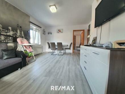 Helle 3.Zi.-Wohnung mit Doppelgarage in Schneegattern (Top 2)