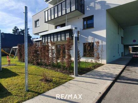 Moderne 2.Zi.-Neubauwohnung mit Garten