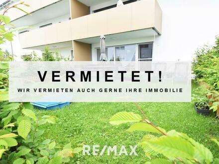VERMIETET - 2 Zimmer Gartenwohnung in Oberhofen am Irrsee