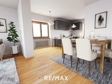 FreiRaum 2.0 - Großzügige Wohnung mit Ausbaupotential in grüner Lage