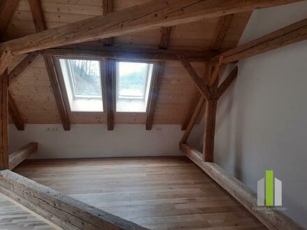 Dachgeschosswohnung mit rustikalem Ambiente