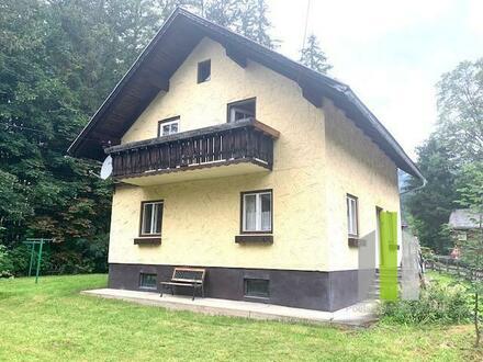 EINFAMILIENHAUS mit POTENTIAL in wunderbarer Lage in Bad Mitterndorf