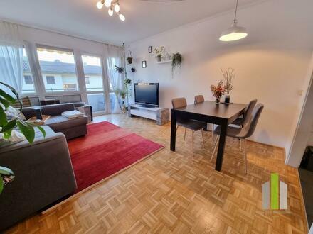 Helle 2 Zi-Wohnung mit Loggia
