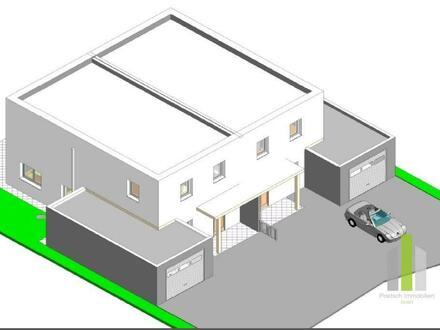 Ruhelage - Doppelhaushälfte mit Garage