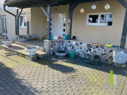 Gartenwohnung im Erdgeschoss mit Garage