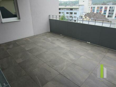 132m² - 4-Zi-Terrassenwhg. der Extraklasse in URFAHR- Zentrum