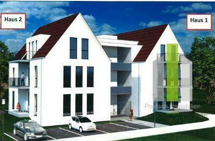 Moderne, komfortable 2 Zimmer Neubauwohnung in exklusiver, kleiner Wohnanlage