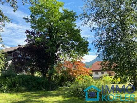 Sonniges Landhaus - freier Blick auf Berge, 1400m² Baugrund