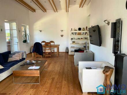 137 m² Traum-Dach-Wohnung mit Terrasse & Einliegerwohnung (31m²)