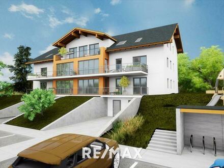 2-Zimmerwohnung mit Ausblick! 60 m² Dachgeschoss mit Terrasse