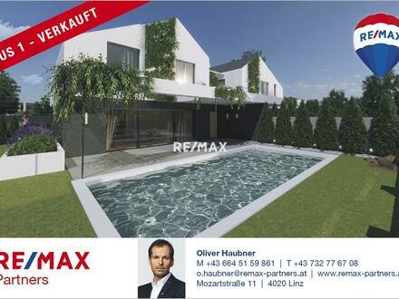 Doppelhaus mit Designkonzept (Haus 1)