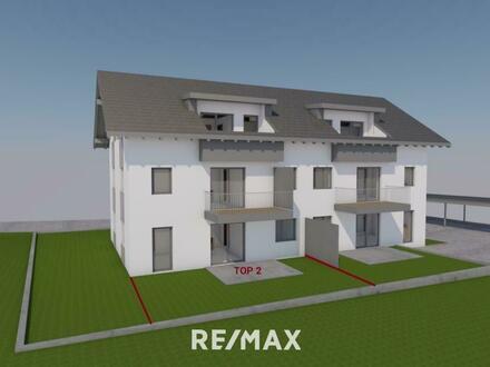 Eigentumswohnung mit Terrasse und großem Garten