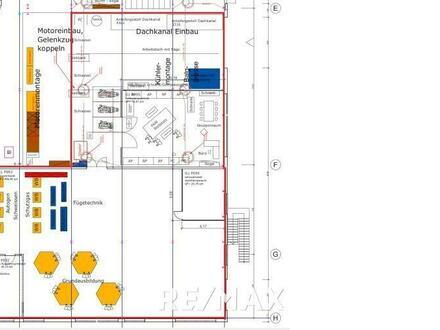 Industriehalle mit Werkstatt und Büros sucht Mieter!!!!