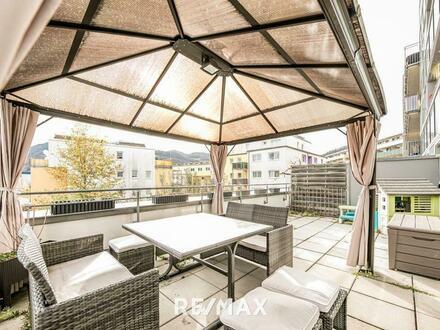 Schöne Wohnung in Hallein mit großzügiger Sonnenterrasse