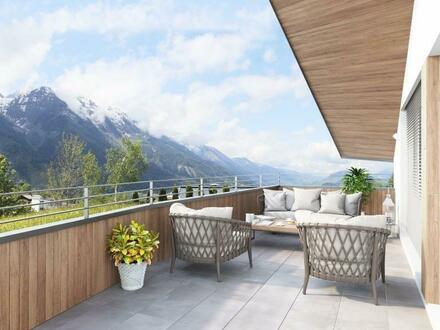 Dachgeschoßwohnung Neubau mit Alpenpanorama neben der Skipiste
