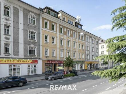 Zinshaus in bester Lage der Stadt Salzburg mit attraktiver Rendite