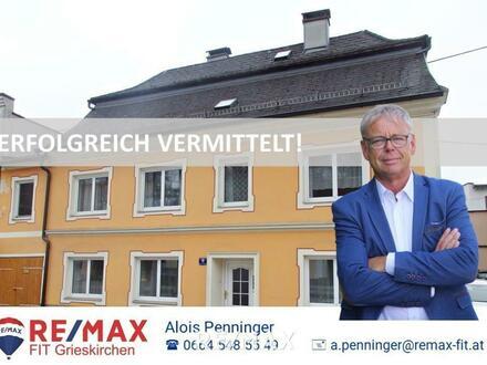 Besonderes Stadthaus in Grieskirchen mit Werkstatt!