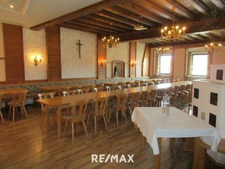 Gutbürgerliches Gasthaus mit Pizzeria und Kegelbahnen