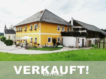 *** OPEN HOUSE Samstag, 26. September 10 Uhr ***Bauernhof mit 2 ha Grund im idyllischen Sauwald