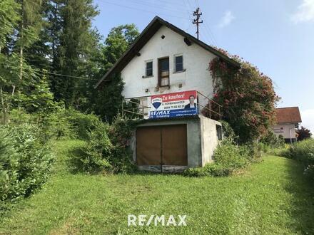 ***OPEN HOUSE Samstag, 07. August***Baugrundstück mit Abrisshaus in Top-Lage
