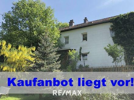 Haus im Grünen am Stadtrand von Linz