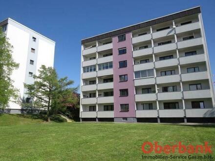 Leonding/Bergham: Nette 3-Zimmer-Wohnung mit großer Loggia!