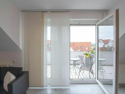 Stilvolle, voll möblierte 2 Zimmer DG-Maisonette Wohnung / Filderstadt / Flughafen / Messe | Stylish, fully furnished 2-room…