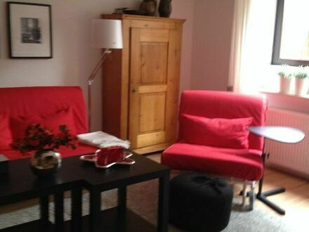 Moderne Zweizimmer-Souterrain-Wohnung in ruhigem Wohngebiet bei Frankfurt   Modern two room basement apartment in a quiet…
