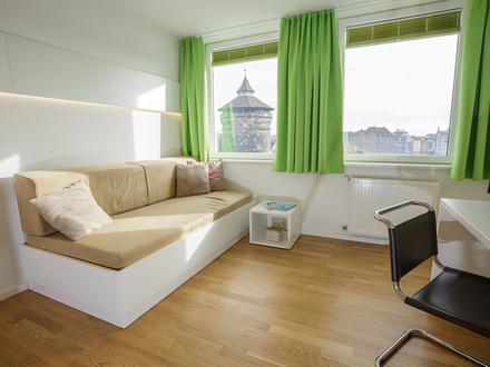 Cosy Apartment - Zentrale Wohnung direkt am Plärrer mit netten Nachbarn | Very Central Cosy Apartment