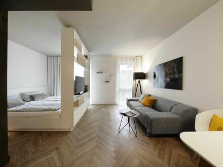 Wundervolles und sauberes Studio XL im Grünen | Charming, fashionable Studio XL conveniently located