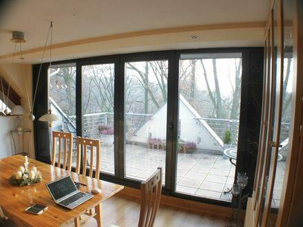 Liebevoll eingerichtete und ruhige Wohnung | Fantastic, quiet penthouse near the forest