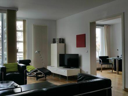 Moderne 2-Zimmer Wohnung im Botschaftsviertel im Tiergarten | Modern 2-room apartment in the ambassador district in Tiergarten