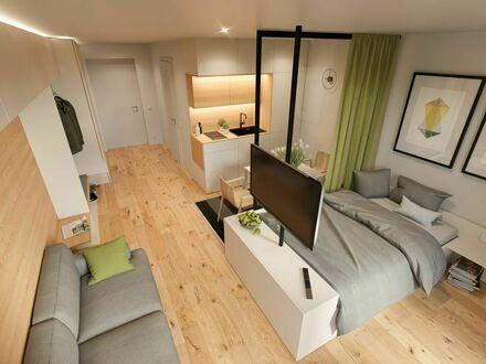 Erstbezug. Moderne, möblierte Business-Wohnung in bester Lage mit direktem Blick auf das Schloss! | First time use. Modern,…
