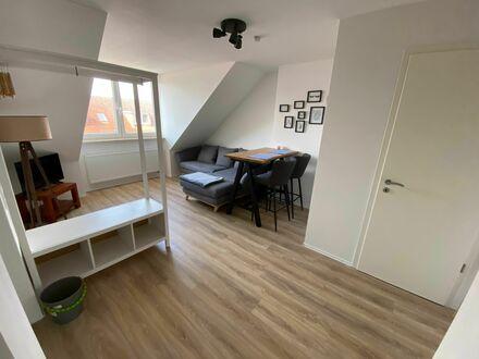 Schickes Dachgeschosswohnung in ruhiger Seitenstraße Fußläufig zum Hauptbahnhof   Wonderful and cute home with nice cit…