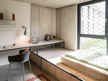Studio Base im ruhigen Leipziger Reudnitz mit Gemeinschaftsküche | Studio Base in the quiet neighborhood of Leipzig Reudnitz…