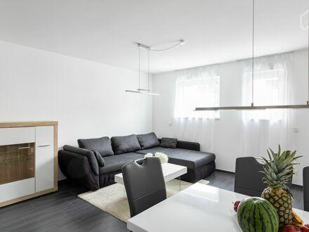 Gemütliches, schickes Studio mit direktem Zugang zum Main | Bright and modern new loft in Frankfurt am Main with direct access…
